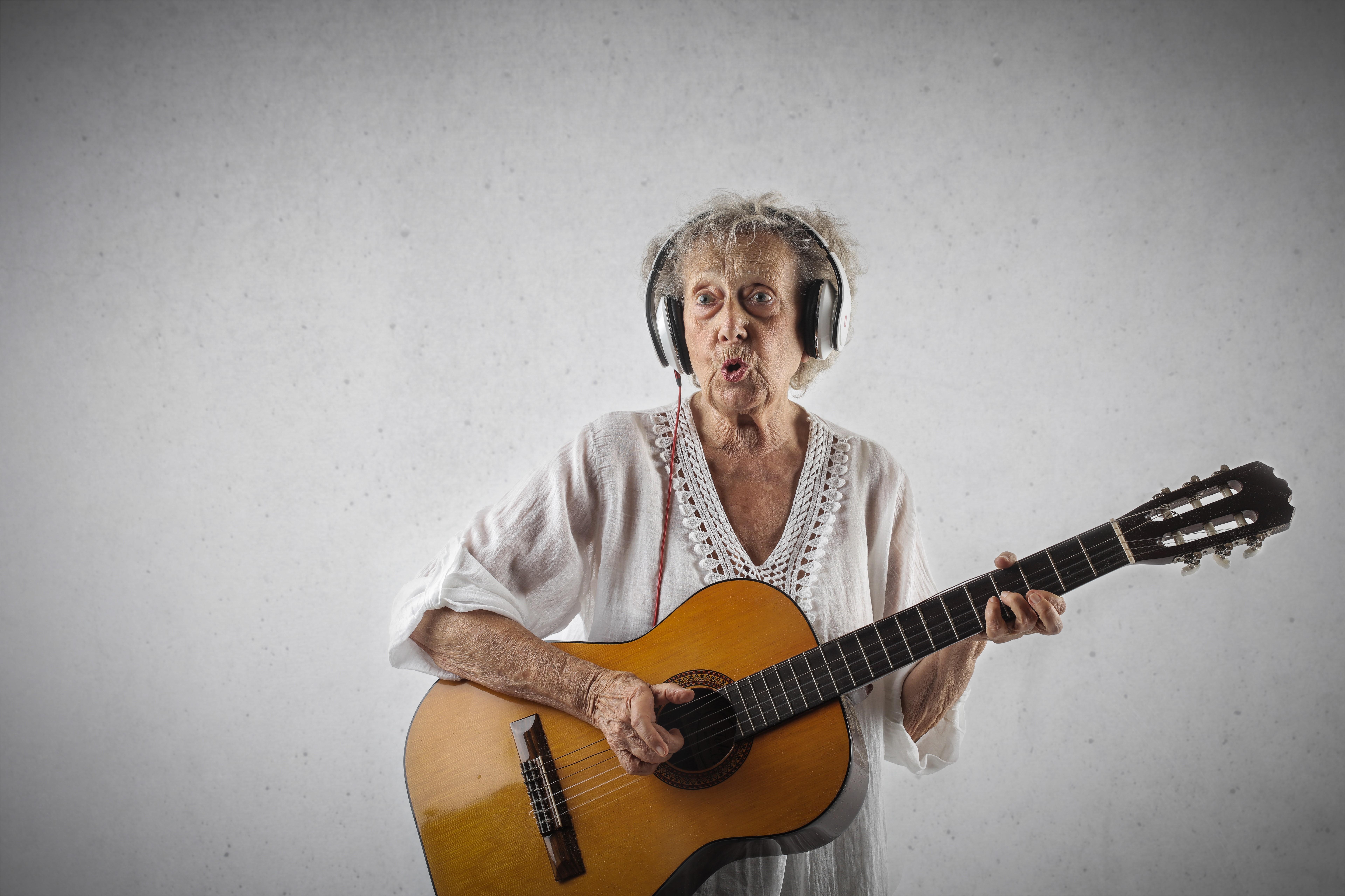 Rock grandma